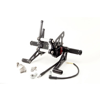 Suzuki GSXR1000 2007 - 2008 LSL Adjustable Rearsets