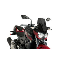 Kawasaki Z400 2019 - Onwards Puig New Generation Sport Screen (Dark Smoke)
