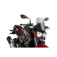 Kawasaki Z400 2019- Onwards Puig Windshield Naked New Generation Sport (Smoke)
