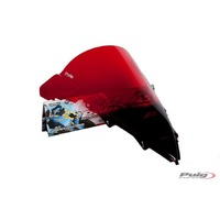 Puig Z-Racing Screen To Suit Yamaha YZF-R1 2009 - 2014 (Red)