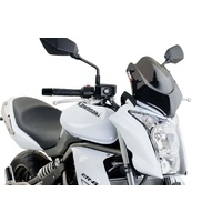 Kawasaki ER-6N 2009 - 2011 Puig New Generation Sport Screen (Dark Smoke)