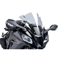 Kawasaki ZX-10R 2004- Onwards Puig Z-Racing Screen (Smoke)
