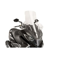 Kymco New Downtown 350i Puig Windshield V-Tech Line Touring Screen (Clear)