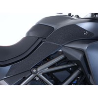 Ducati Multistrada 1260/S/D-Air/Pikes Peak 2018 - Onwards Tank Traction Grips (Colour: Black)