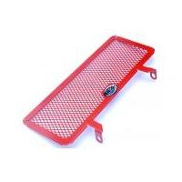 Ducati Hypermotard 1100 EVO R&G Oil Cooler Guard (Red)