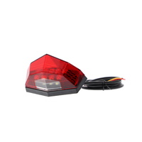 Evotech Performance Combination Rear Light / Number Plate Light (Red)