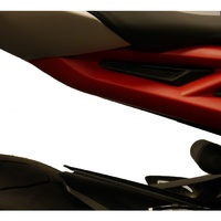 Triumph Street Triple RX 2015 - 2016 Evotech Performance Footrest Blanking Plates