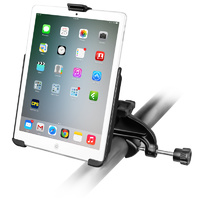 RAM-B-121-AP14U :: RAM Yoke Clamp Mount with EZ-ROLL'R Cradle for Apple iPad mini 1-3
