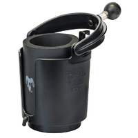 RAM-B-132BU :: RAM Self-Levelling Cup Holder With Stubbie Holder