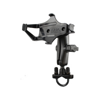 RAM-B-149Z-GA7U :: RAM Handlebar Rail Mount with Zinc Coated U-Bolt Base for the Garmin GPSMAP