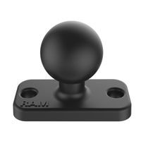 "RAM-B-202U-12 :: RAM B Size 1"" Ball And Rectangular Plate With 1.5"" 2-Hole Pattern"