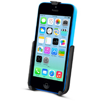 RAM-HOL-AP16U :: RAM Cradle for the Apple iPhone 5c WITHOUT CASE, SKIN OR SLEEVE