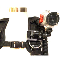 "Scuba Mount For 1/4"" Camera Mounts (Drift HD, Contour)"
