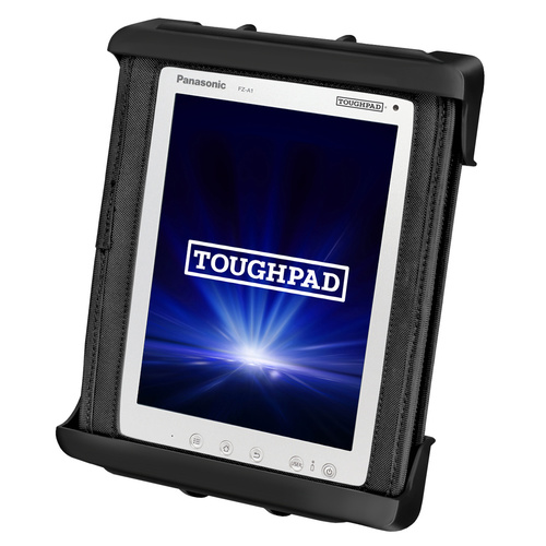 RAM-HOL-TAB9U :: RAM Tab-Tite Cradle For The Panasonic Toughpad FZ-A1 (WITH CASE)
